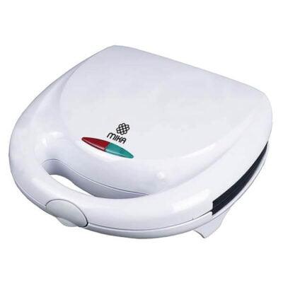 Mika Sandwich Maker, 2 Slice, 750W, White MSAN300