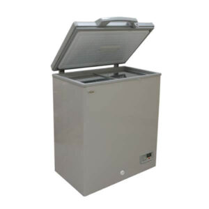 Mika Deep Freezer, SF130SG 100L, Chest Type, Silver Grey