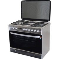 Hotpoint F9E50E2/F9E42G2.IL.S 4 Gas + 2 Electric Cooker