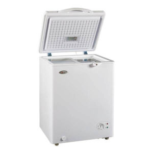 Mika Deep Freezer, SF130W 100L, Chest Type, White