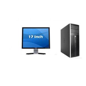 Ex uk HP Tower Core i3 2.8GHz | 500GB HDD | 4GB RAM | DVD Rw With 17inch TFT