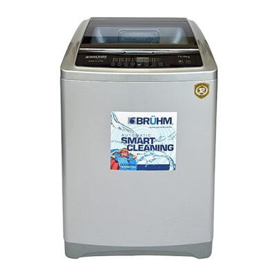 Bruhm BWM-TL150H - Top Load Washing Machine - Full Automatic,15 KGS Wash