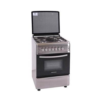BruBruhm Cooker BGC 5031NXhm BGC 5031NX - 50X55 - 3 gas + 1 electric