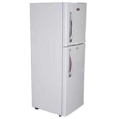 Mika Refrigerator, 108L, Direct Cool, Double Door, Black Brush