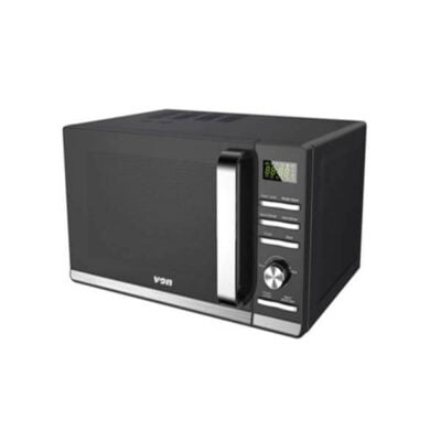 VON VAMS-20DGK Microwave Oven, Solo, 20L, Digital – Black