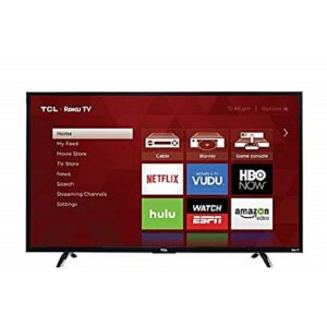 Tcl 50p601 50 4K UHD Smart LED TV