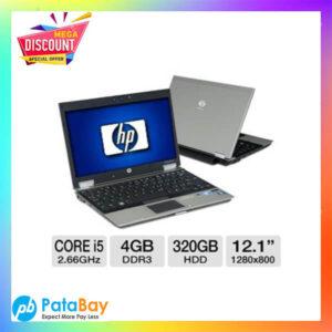 HP Elitebook 2540p Core I5 4GB Ram/320 hdd refurbished