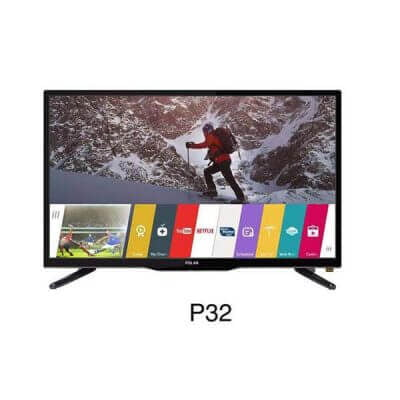 Polar 32 inch tv - HD LED Digital TV - (Black).