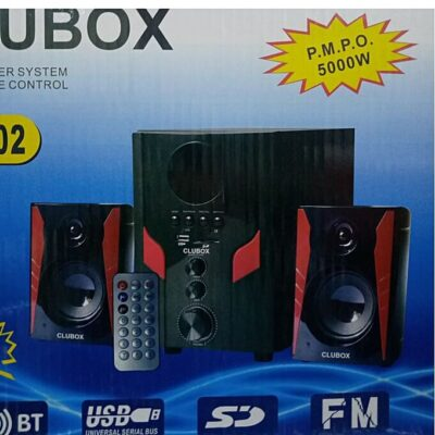 Clubox SubWoofer,Super woofer Bluetooth