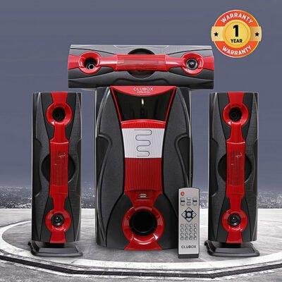 Clubox IC-Q3L HI-FI BT Multimedia Speaker System