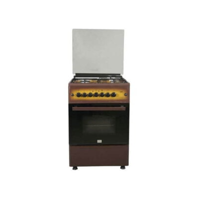 Mika MST55PIAGDB/SD - Standing Cooker, 4Gas
