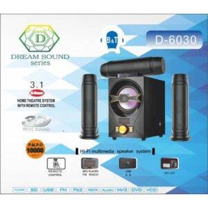 Dream Sound D-6030 3.1 Channel Bluetooth System