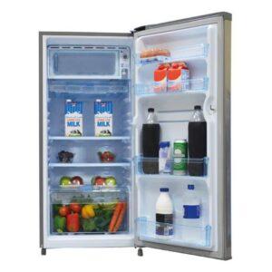 Mika MRDCS170MS - Single Door Refrigerator - 170L - Moon Silver