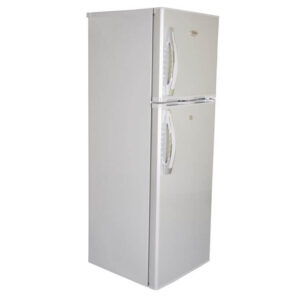 Mika MRDCD95SBR - Refrigerator, Double Door, 9.5Cu.Ft, 168 Litres - Silver Brush