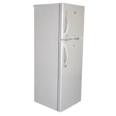 Mika MRDCD95SBR - Refrigerator, Double Door, 9.5Cu.Ft, 168 Litres - Silver Brush