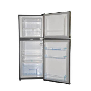 Mika MRDCD70DS - Refrigerator, Double Door, 7Cu.Ft, 108 Litres - Silver