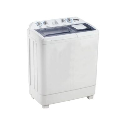 Mika MWM12107 - Washing Machine, Semi-Automatic, 7Kg, White