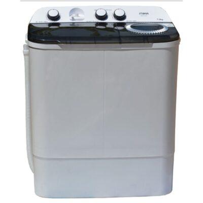 Mika MWM12207 - Washing Machine, Semi-Automatic, 7Kg, White