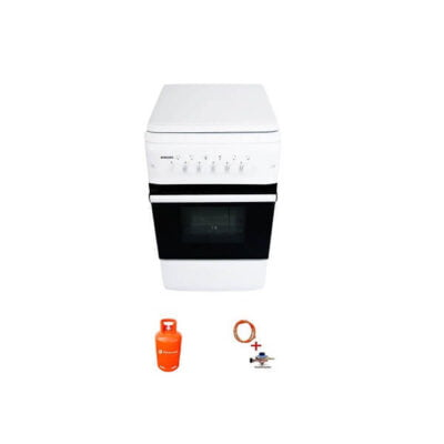 Bruhm BGC 5040NW, Complete 4 Gas, Free Standing Cooker