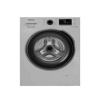 Samsung WW80J5260GS/NQ Front Load Washing Machine, Silver - 8Kg