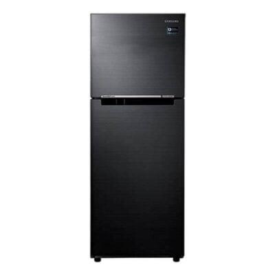 Samsung RT44K5052BS Double Door Fridge, Top Mount Freezer, 362L – Black