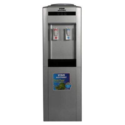 Von Hotpoint HWDZ2010SB/VADA2110S Water Dispenser Hot & Normal F/S W/Cabinet - Silver/Black