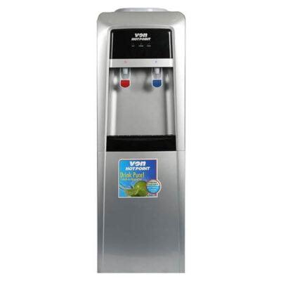 Von Hotpoint W/Disp HWDZ2110SB/VADA2210S Elec.Cooling F/S W/Cabinet - SLV/BLK