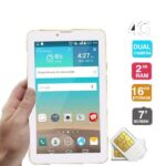 Lenosed T81 Tablet, 7 Inch, 4G, 2 GB, Wi-Fi, Dual Sim
