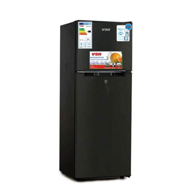 Hotpoint VON VART-18DMS Double Door Fridge 138L - Stainless Steel