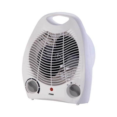 Mika Fan Heater, 1000-2000W, White Model number MH101