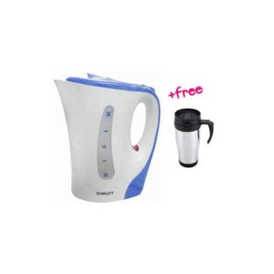 Plastic kettle+ mug