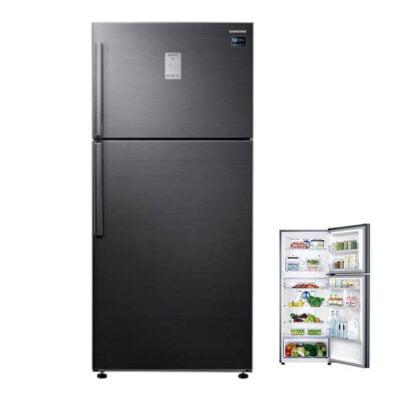 Samsung RT60K6341BS Fridge, Top Mount Freezer, 460L, Twin Cool - Black