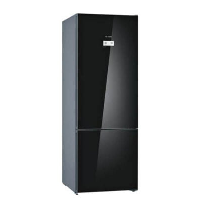 Bosch KGN56LB305 Bottom Freezer Fridge, 505L - Black