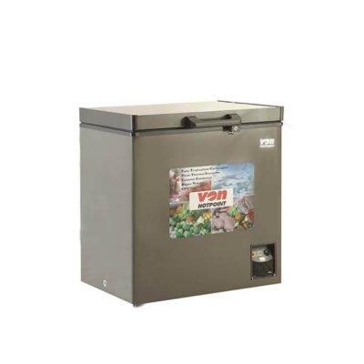 Hotpoint Von HCFH195SS/VAFC19DUS Showcase Freezer, 150L, LED, LVS - Grey