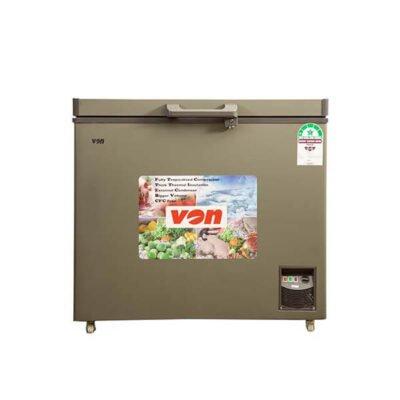Hotpoint Von HCFH260SS/VAFC26DUS Showcase Freezer, 200L - Grey