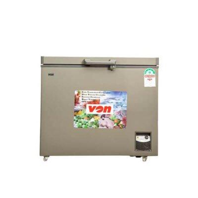 Hotpoint Von HCFH330SS/VAFC33DUS Showcase Freezer, 260L - Grey
