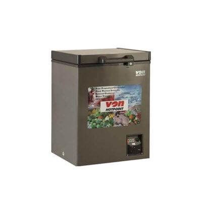 Hotpoint Von HCFH120SS/VAFC12DUS Showcase Freezer, 100L - Grey