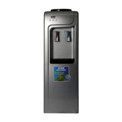 Von Hotpoint W/Disp HWDZ2210SB/VADA2311S Comp.Cooling F/S W/Cabinet - Silver/Black