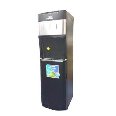 Von Hotpoint Water Dispenser HWDZ2220SB/VADA2323K Comp.Cooling F/S W/Fridge D. Grey
