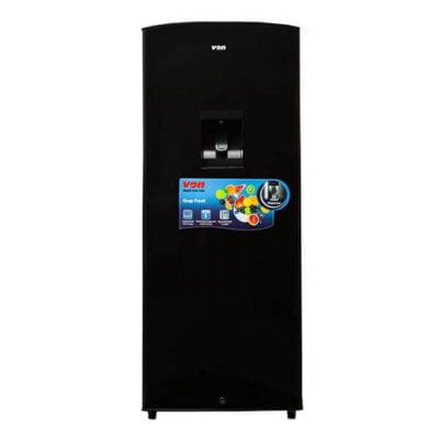 Hotpoint Von VARS-25DKK Single Door Fridge 180L - Black