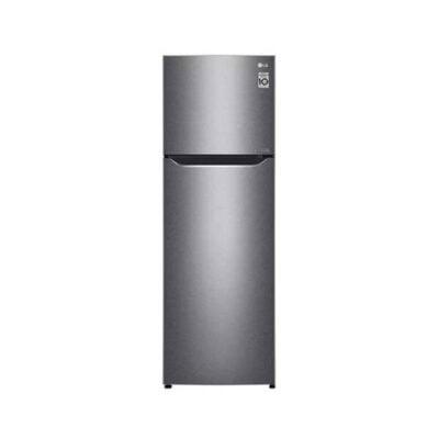 LG GN-B272SQCB Refrigerator, Top Mount Freezer, 272L – Silver