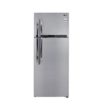LG GL-C442RLCN Refrigerator, Top Mount Freezer, 360L – Silver