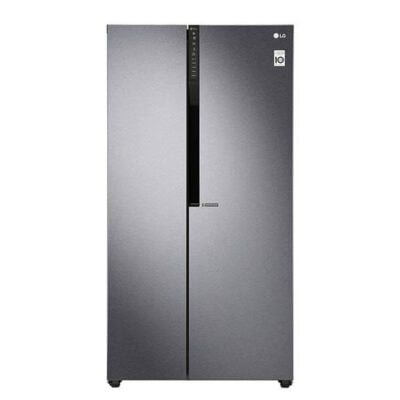 LG GC-B247KQDV Refrigerator, Side by Side, 627L – Silver