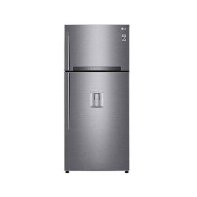 LG GR-F872HLHU Refrigerator, Top Mount Freezer, 594L– Silver