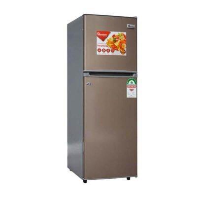 Ramtons fridge 128 LITERS 2 DOOR DIRECT COOL FRIDGE, CHAMPAGNE- RF/269