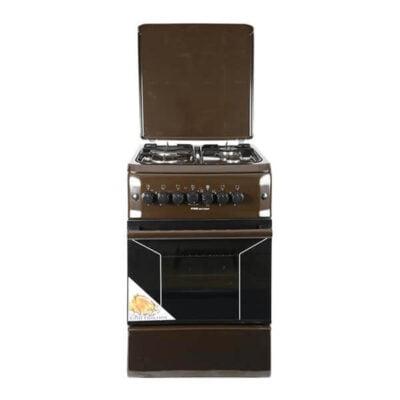 Von HotpoVon Hotpoint Cooker F5N31E2.B.E/VAC5F031PB int F5N31E2.B.E/VAC5F031PB 3 Gas +1 Electric Cooker - Brown
