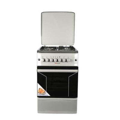Von Hotpoint Cooker F5N31E2.S.E/VAC5F031PS 3 Gas +1 Electric - Silver