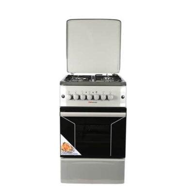 Von HVon Hotpoint Cooker F5N31E2.S.E/VAC5F031PS otpoint Cooker F5N31E2.S.E/VAC5F031PS 3 Gas +1 Electric - Silver