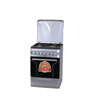 Hotpoint Von F6S31E2/ VAC6F031US 3 Gas + 1 Electric Cooker - Silver