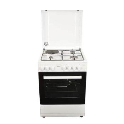 Von Hotpoint 7312NEW/VAC6S031UW 3 Gas + 1 Electric Cooker - White